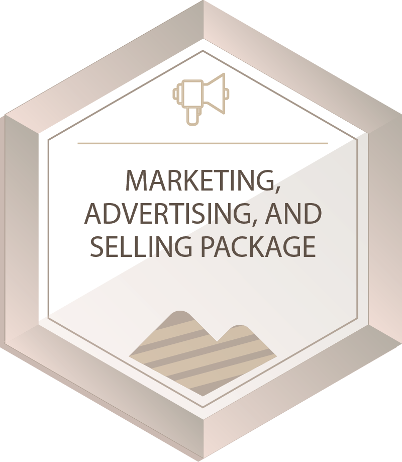 MARKETING & SALES PACKAGE