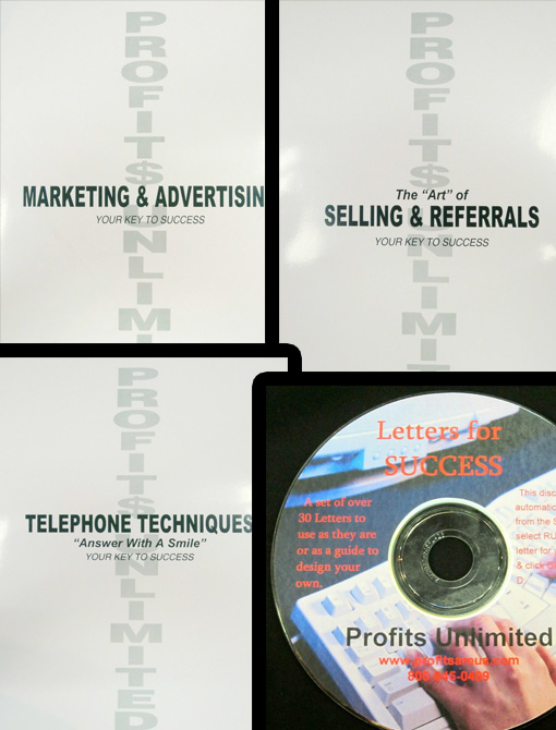 Marketing, Advertising & Selling Package