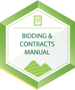 Bidding and Contract Manual Icon