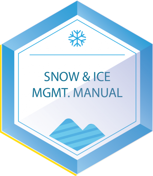 snow and ice management manual icon