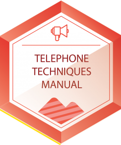 telephone techniques manual icon